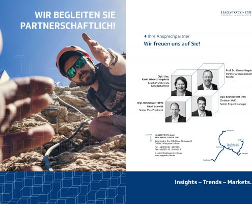 JSKB || Jürgen Schart Kommunikationsberatung: Referenzen Hagstotz ITM, Neues Corporate Design, Adaption Imagebroschüre