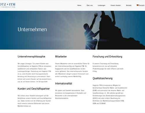 JSKB Referenzen: Hagstotz-ITM Internetseite